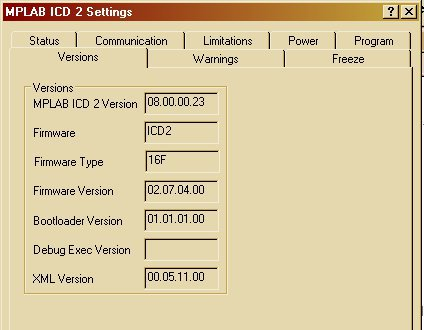 MPLAB Settings 1a
