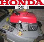 Honda HRF464 mower side view